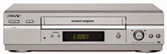 Sony Video Recorder SLV-SE240 Cеребряный кассетный видеомагнитофон/плеер