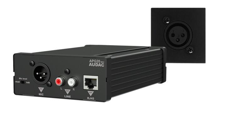 AUDAC WP45M/B Черный AV ресивер
