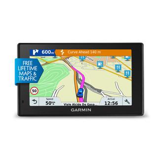"""Garmin DriveSmart 51 LMT-S Фиксированный 5"""" TFT Сенсорный экран 173.7г Черный"""