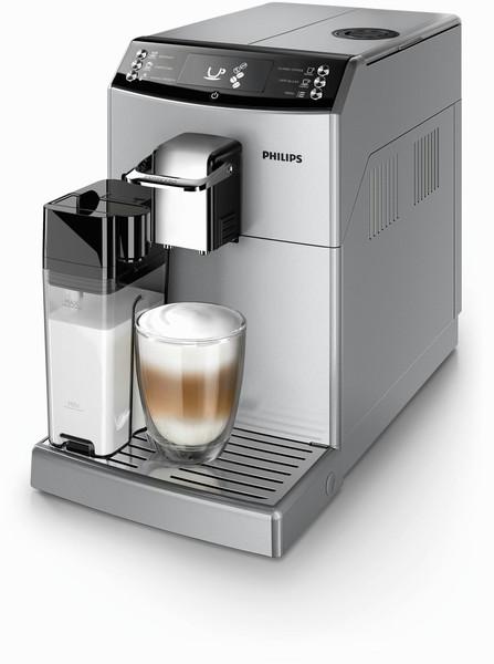 Philips 4000 series EP4051/10 Отдельностоящий Автоматическая Машина для эспрессо 1.8л Cеребряный кофеварка