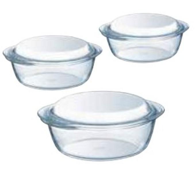 Pyrex 912S637 3шт набор кастрюль/сковородок