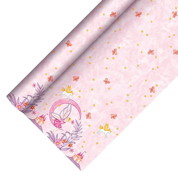 Papstar PAP85698 Бумага Розовый одноразовая скатерть