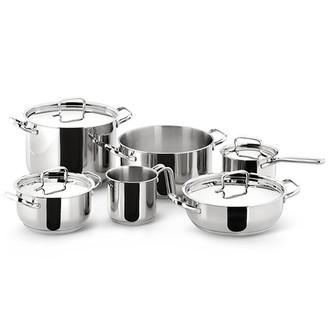 Lagostina Sfiziosa 10шт набор кастрюль/сковородок