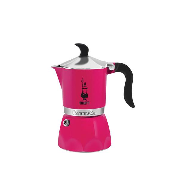 Bialetti Fiammetta Отдельностоящий Руководство Manual drip coffee maker 3чашек Fucsia
