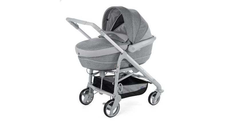 Chicco Trio LOVEmotion Legend Travel system pram 1место(а) Серый