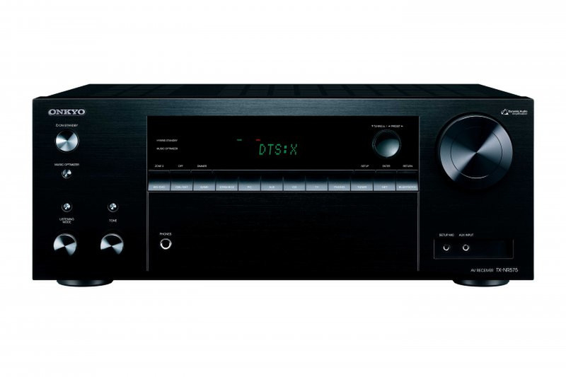 ONKYO TX-NR575 80Вт 7.2канала Surround 3D Черный AV ресивер
