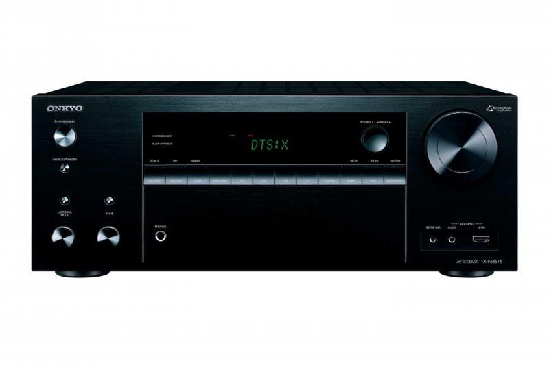 ONKYO TX-NR676 100Вт 7.2канала Surround Черный AV ресивер