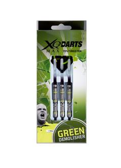 XQMax Michael van Gerwen Green Demolisher 3шт Steel tip darts