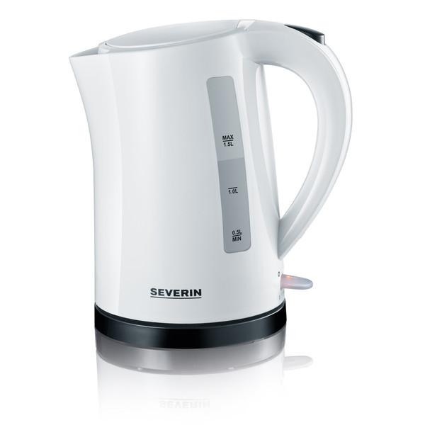 Severin WK 3494 1.5л 2200Вт Черный, Белый электрический чайник