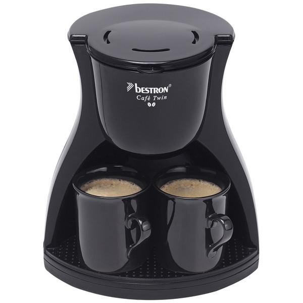 Bestron ACM8007BE Отдельностоящий Руководство Капельная кофеварка Черный кофеварка