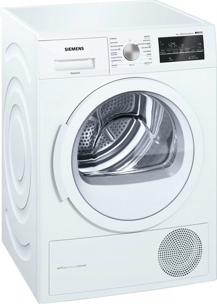Siemens iQ500 WT47G428EE Отдельностоящий Фронтальная загрузка 8кг A++ Белый