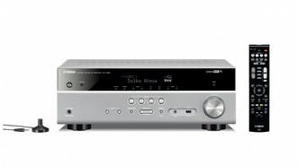 Yamaha RX-V583 80Вт 7.2канала Объемный звук 3D Титановый AV ресивер