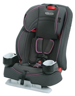 Graco Atlas 65 Разноцветный High-back car booster seat