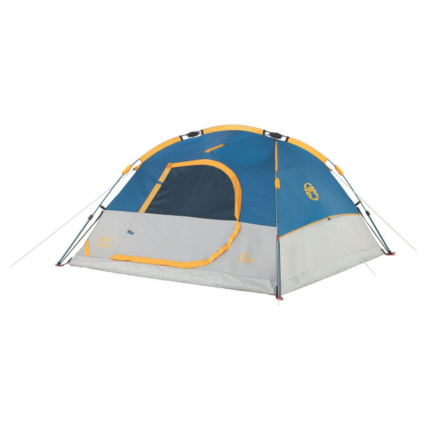 Coleman Flatiron 3-Person Instant Dome Tent Dome/Igloo tent Синий, Белый, Желтый