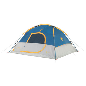 Coleman Flatiron 4-Person Instant Dome Tent Dome/Igloo tent 4person(s) Синий, Белый, Желтый