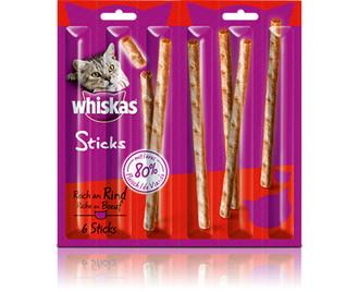 Whiskas 251182/14er Pack Кот 6г Snacks Говядина