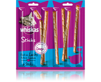 Whiskas 251179/14er Pack Кот 6г Snacks Salmon