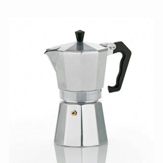 Kela 10590 Отдельностоящий Руководство 3чашек Алюминиевый кофеварка