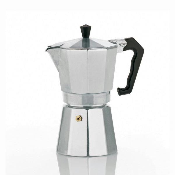 Kela 10591 Отдельностоящий Руководство 6чашек Алюминиевый кофеварка