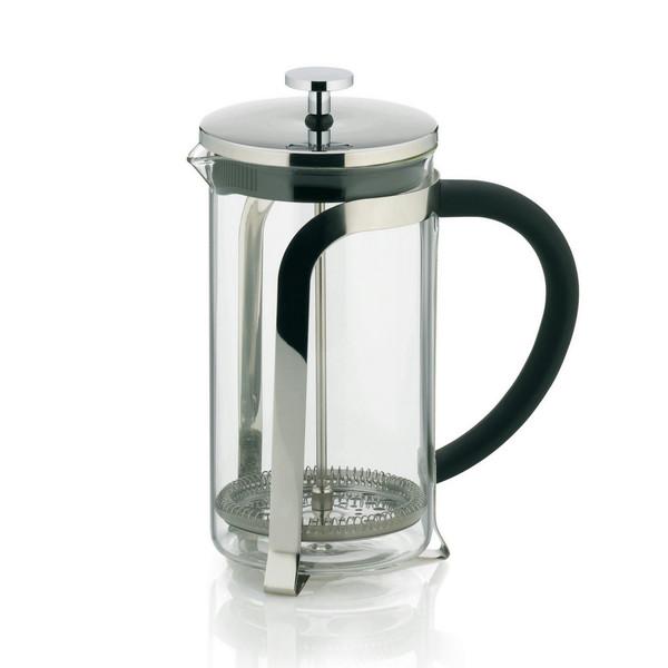 Kela 10852 Отдельностоящий 1л Нержавеющая сталь, Прозрачный кофеварка