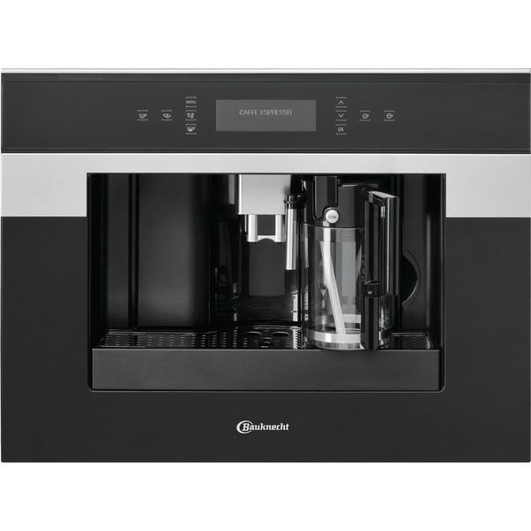 Bauknecht CM 945 PT Встроенный Автоматическая Combi coffee maker 2л 2чашек Черный, Нержавеющая сталь