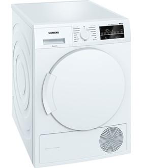 Siemens WT45W4V3 Отдельностоящий Фронтальная загрузка 8кг A+++ Белый сушилка для белья