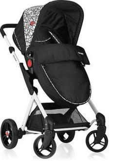 Brevi 8011250766587 Traditional stroller 1место(а) Черный детская коляска