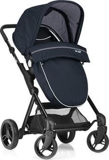 Brevi 8011250766877 Traditional stroller 1место(а) Синий детская коляска