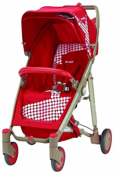 Brevi Crystal Paseggino 233 Traditional stroller 1место(а) Красный