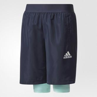 Adidas CE9211 140 Синий Спорт boys' trousers/shorts