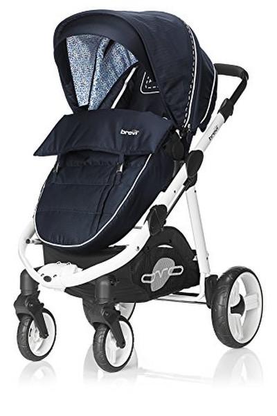 Brevi OVO Premium Traditional stroller 1место(а) Синий, Флот