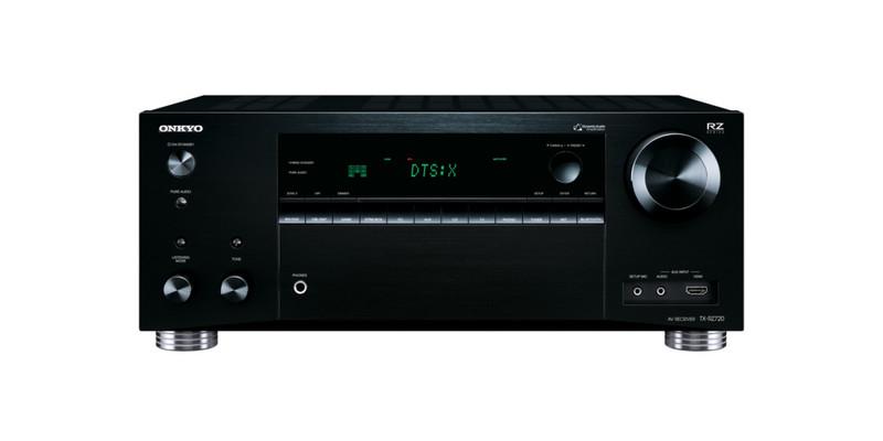 ONKYO TX-RZ720 7.2канала Объемный звук 3D Черный AV ресивер