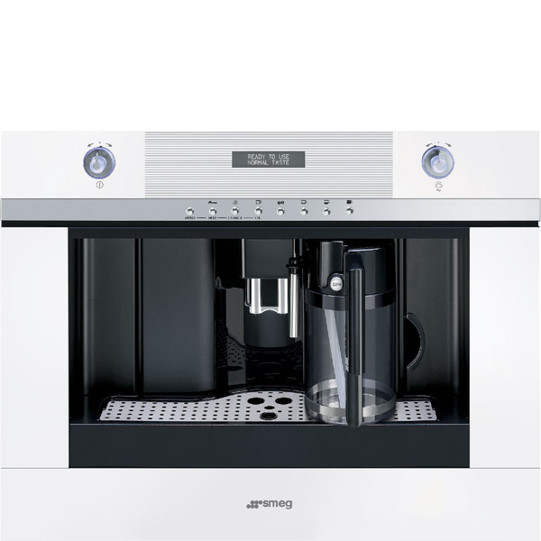Smeg CMSC451B Встроенный 1.8л Белый кофеварка