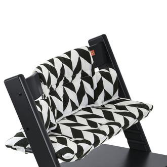 Stokke Tripp Trapp Cushion Подушка на стул для кормления Черный, Белый