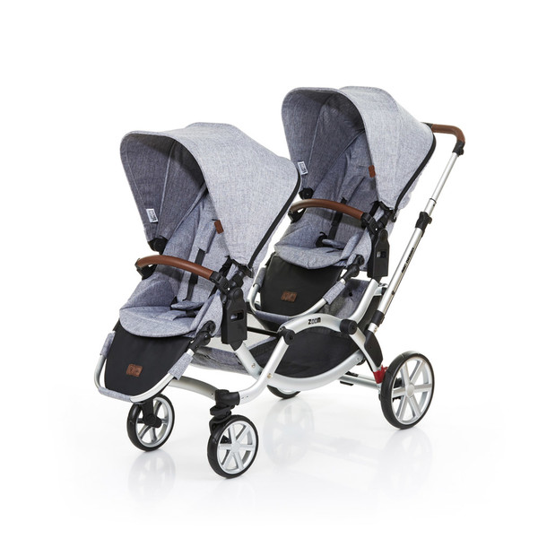 ABC Design Zoom Tandem stroller 2место(а) Графит, Серый