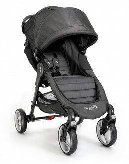 Baby Jogger City Mini 4 Traditional stroller 1место(а) Древесный уголь