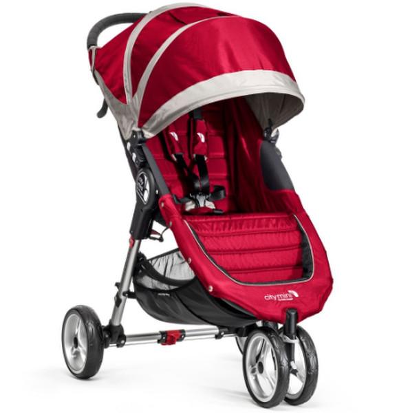 Baby Jogger City mini 3 Jogging stroller 1место(а) Малиновый, Серый