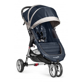 Baby Jogger City mini 3 Jogging stroller 1место(а) Серый, Флот