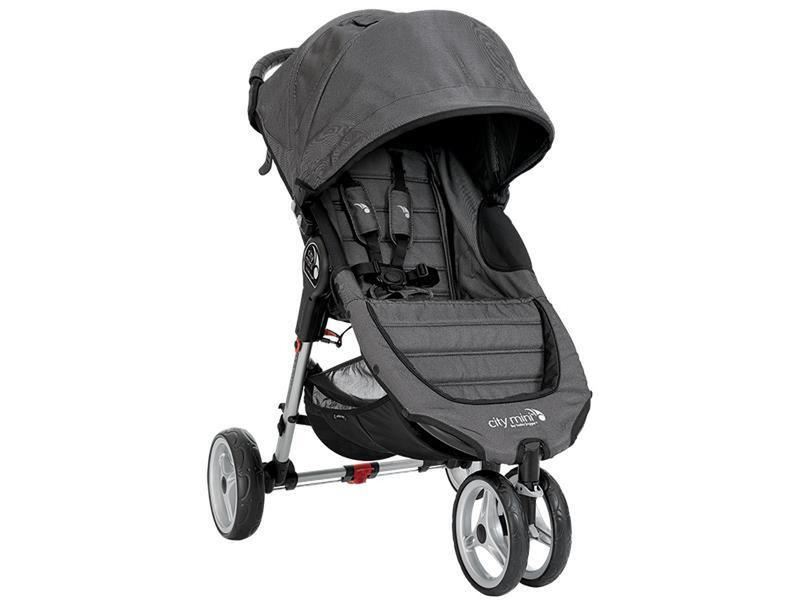 Baby Jogger City mini 3 Jogging stroller 1место(а) Древесный уголь