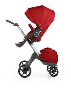 Stokke Xplory New Travel system pram 1место(а) Красный