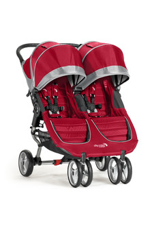 Baby Jogger City Mini Double Jogging stroller 2место(а) Малиновый, Серый