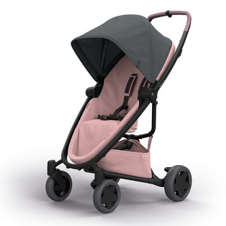 Quinny Zapp Flex Plus Travel system stroller 1место(а) Графит, Розовый