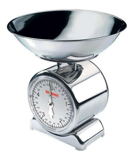 Механические чашечные кухонные весы