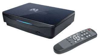 DELL Me 800 Full-HD 1500GB Синий медиаплеер
