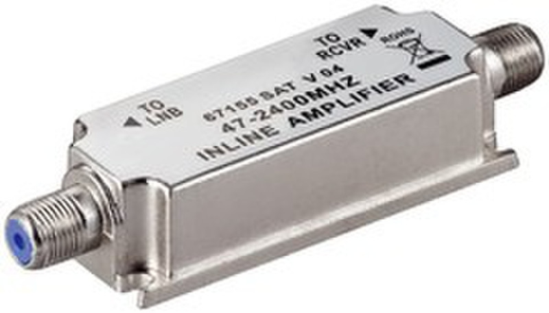 Ednet SAT-Inline Amplifier Cеребряный AV ресивер