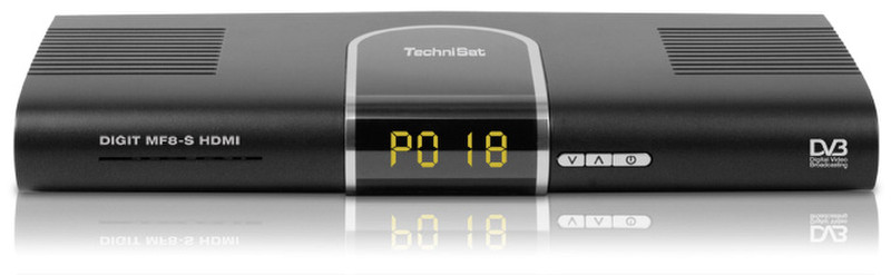 TechniSat DIGIT MF8-S Черный AV ресивер
