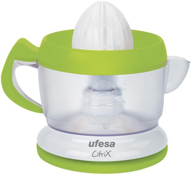 Ufesa EX4938 0.6л 40Вт Зеленый, Белый электрический цитрус-пресс