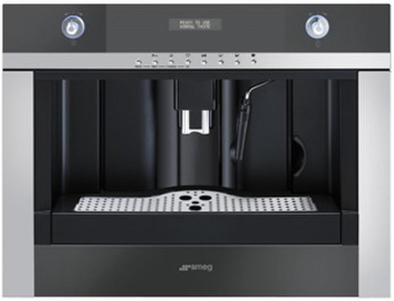 Smeg CMSC45NE Встроенный Автоматическая Espresso machine 1.80л Черный кофеварка