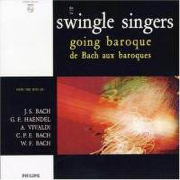 Philips Swingle Singers - Going Baroque (2001) CD-R 700МБ 1шт