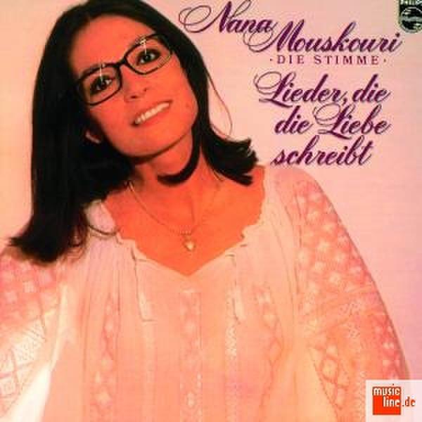 Philips Nana Mouskouri - Lider Die Die Liebe Schreibt (1993) CD-R 700МБ 1шт